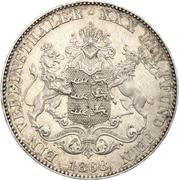 1 Vereinsthaler - Karl I. – reverse