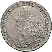 10 Kreuzer - Friedrich I. – obverse