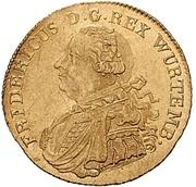 1 Ducat - Friedrich I. – obverse