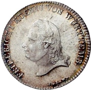 20 Kreuzer - Friedrich I. – obverse