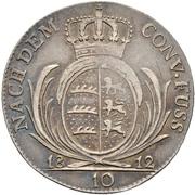 10 Kreuzer - Friedrich I. – reverse