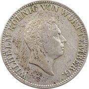 2 Gulden - Wilhelm I. -  obverse