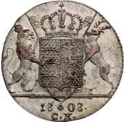 1 Ducat - Friedrich I. (Silver pattern strike) – reverse