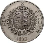 1 Gulden - Wilhelm I. – reverse
