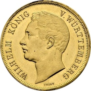 4 Ducat - Wilhelm I. (Mint visit) – obverse