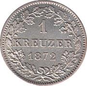 1 Kreuzer - Karl I. – reverse