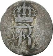 1 Kreuzer - Friedrich I. – obverse