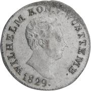 3 Kreuzer - Wilhelm I. – obverse