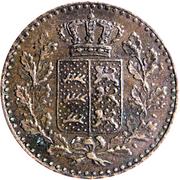 ½ Kreuzer - Karl I. -  obverse