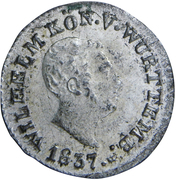 1 Kreuzer - Wilhelm I. – obverse