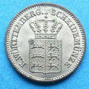 1 Kreuzer - Wilhelm I. -  obverse