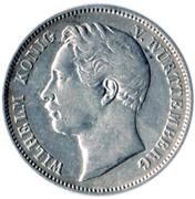 ½ Gulden - Wilhelm I. – obverse