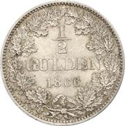 ½ Gulden - Karl I. – reverse