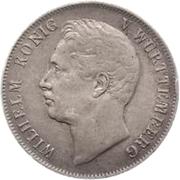 1 Gulden - Wilhelm I. – obverse