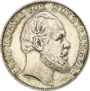 1 Vereinthaler - Karl I. – obverse