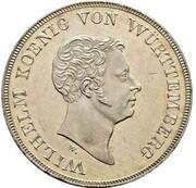 1 Thaler - Wilhelm I. (Kronentaler; Customs Union - Pattern) – obverse