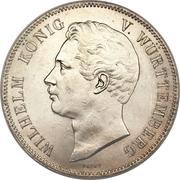 2 Thaler / 3½ Gulden - Wilhelm I. – obverse