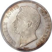 2 Thaler / 3½ Gulden - Wilhelm I. (Marriage) – obverse