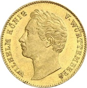 1 Ducat - Wilhelm I. – obverse