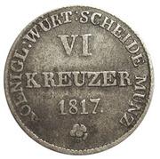 6 Kreuzer - WilhelmI. – reverse