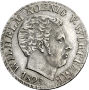 10 Kreuzer - Wilhelm I. – obverse
