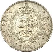 12 Kreuzer - Wilhelm I. – reverse