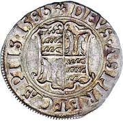 1 Groschen - Friedrich I. – reverse