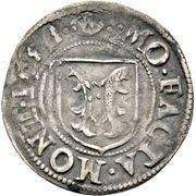 2 Kreuzer - Friedrich I. – reverse