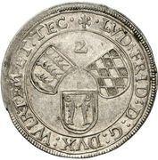 2 Schilling - Ludwig Friedrich (Basler) – obverse