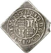 2 Kreuzer - Friedrich I. (Klippe) – obverse