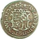 ½ Gulden - Julius Friedrich (Kipper; Hirschgulden) – obverse