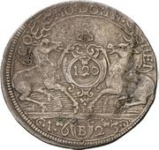 2 Gulden - Julius Friedrich (Kipper; Doppelter Hirschgulden) – reverse