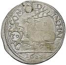 ½ Gulden - Julius Friedrich (Kipper; Hirschgulden) – reverse