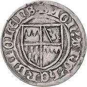 1 Schilling - Gottfried IV., Schenk von Limpurg – obverse