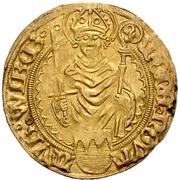 1 Goldgulden - Lorenz von Bibra – obverse