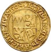 1 Goldgulden - Lorenz von Bibra – reverse