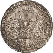 1 Thaler - Johann Gottfried II. von Guttenberg – reverse