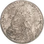 1 Thaler - Adam Friedrich von Seinsheim – obverse