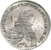 1 Thaler - Franz Ludwig von Erthal – obverse