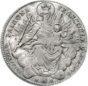 1 Thaler - Franz Ludwig von Erthal – reverse