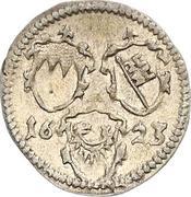 1 Körtling - Philipp Adolf von Ehrenberg – obverse