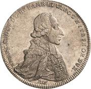 1 Thaler - Franz Ludwig von Erthal (Kontributionstaler) – obverse