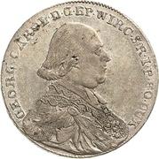 20 Kreuzer - Georg Karl von Fechenbach – obverse