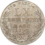 20 Kreuzer - Georg Karl von Fechenbach – reverse