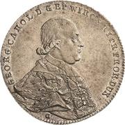 1 Thaler - Georg Karl von Fechenbach – obverse