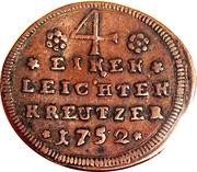¼ Kreuzer - Karl Philipp – reverse