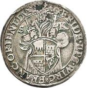 10 Kreuzer - Friedrich von Wirsberg – obverse