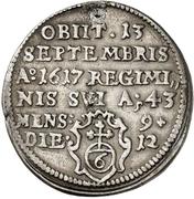 1 Groschen - Julius Echter von Mespelbrunn (Death) – reverse