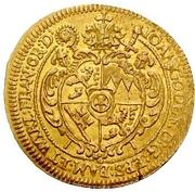 1 Goldgulden - Johann Gottfried von Aschhausen (Neujahrs-Goldgulden) – obverse