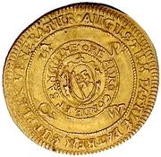 1 Goldgulden - Johann Gottfried von Aschhausen (Neujahrs-Goldgulden) – reverse